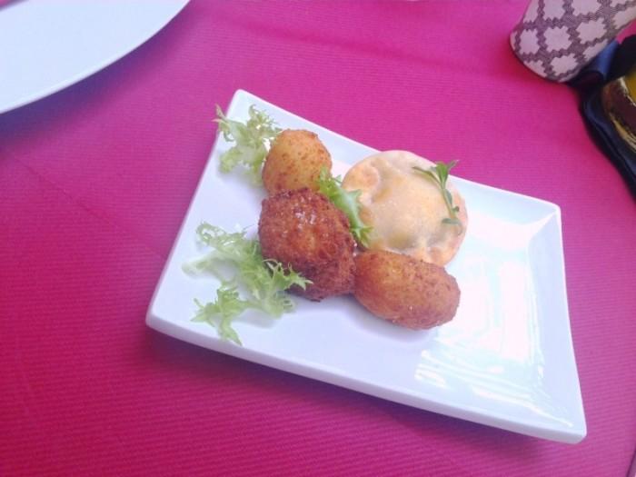 Cantina La Barbera, gli sfizi fritti raviolo arancino crocche e frittatina