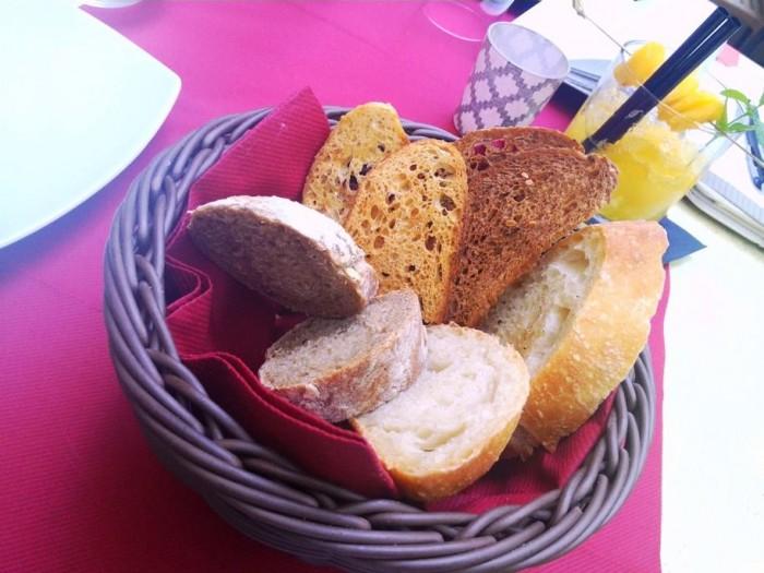 Cantina La Barbera, i diversi tipi di pane della casa