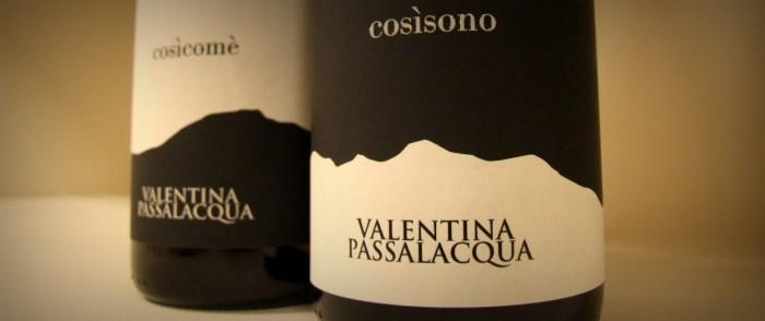 i vini di Valentina Passalacqua