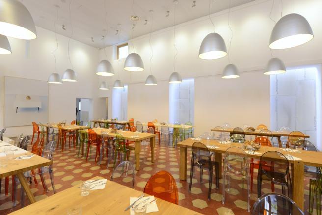 il Refettorio Ambrosiano, l'interno