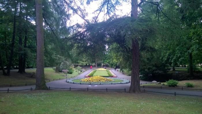 il parco Oliwa
