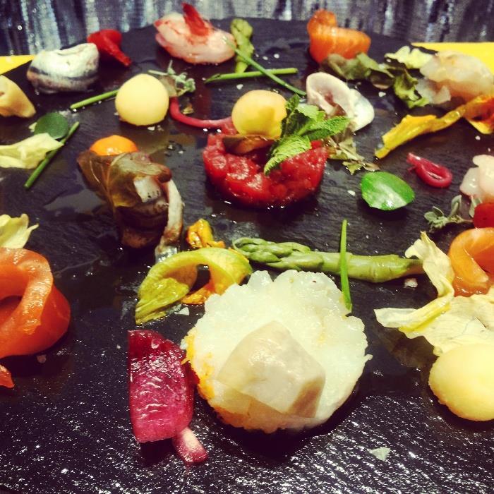il sashimi vesuviano del Cieddì