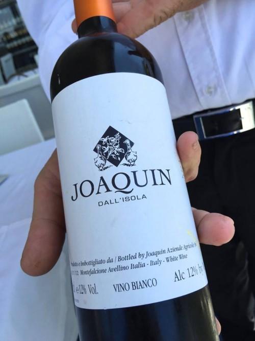 Al Caprì Don Alfonso Cafè, il vino della giornata