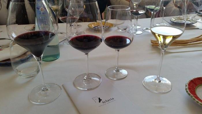 la degustazione dei vini di Sclavia