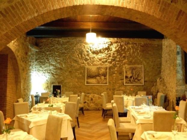Il Vecchio Mulino, La sala interna