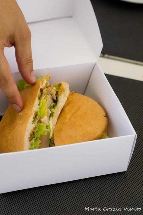 Anikò, panino con tataki di tonno