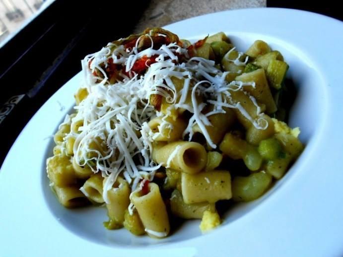 pasta e patate...gesualdina (porzione pignatica)