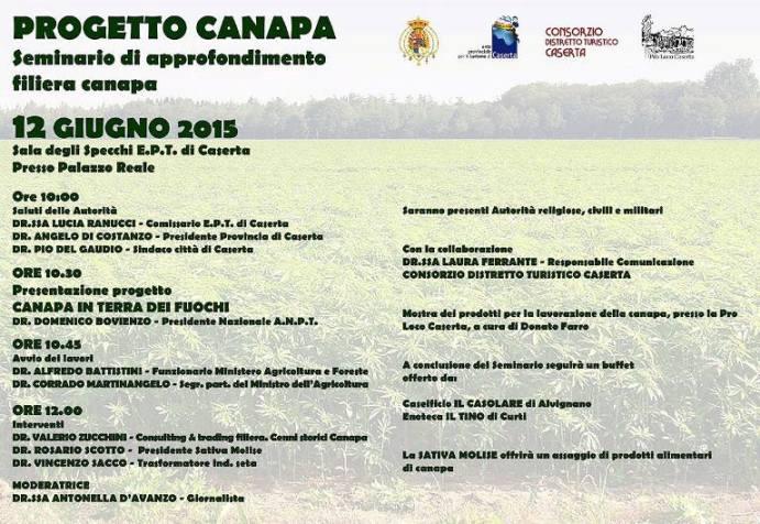 presentazione del progetto filiera Canapa