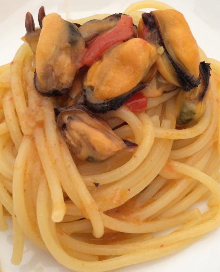 spaghetti con cozze virginia