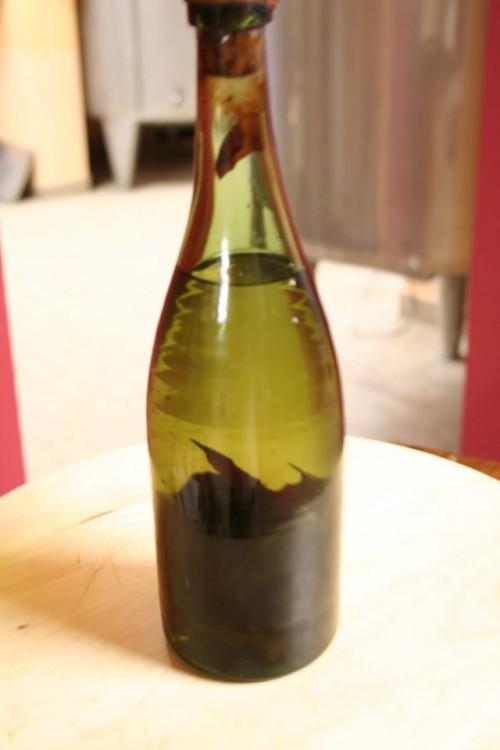 una bottiglia datata 1903