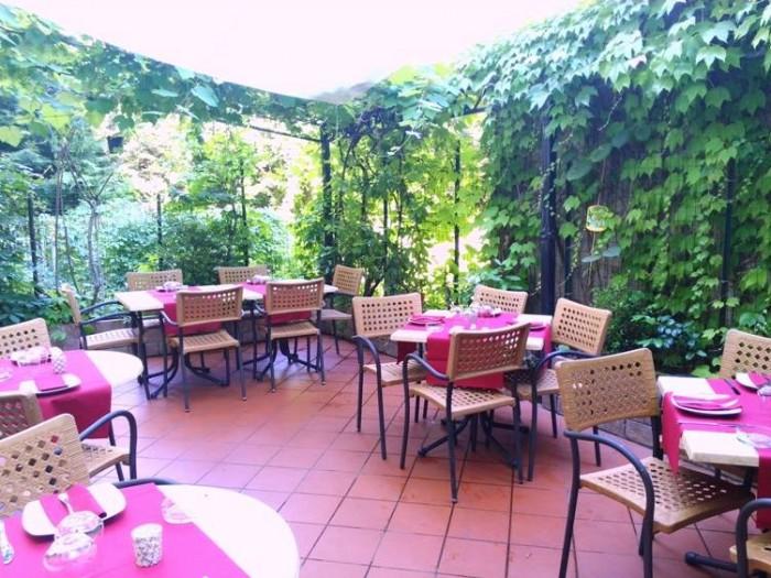 Cantina La Barbera, una veduta del giardinetto pensile