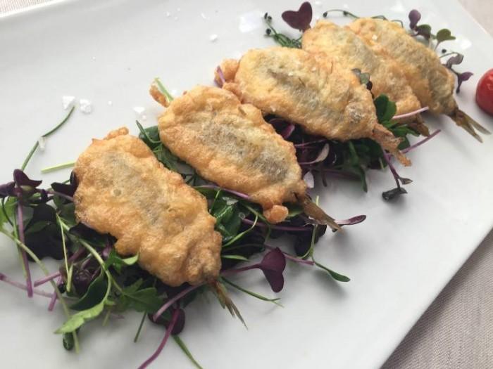 Al Giardiniello, le alici fritte