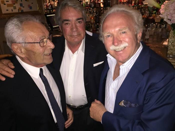 Bruno Borghesi con Massimo Menta e Guido Barendson