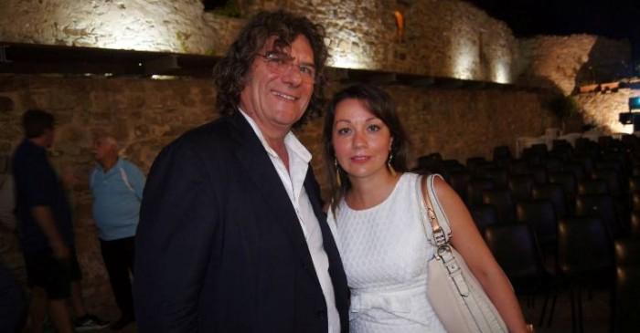 Castellabate, Premio Pio Alferano. Io con Fulvio  Pierangelini