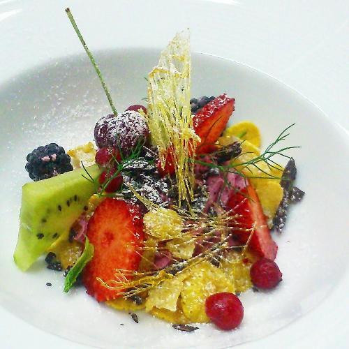Cetaria, frutta