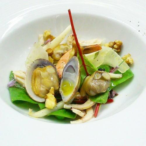 Cetaria, insalatina di mare tiepida