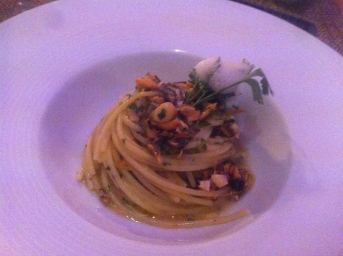 Cetaria, spaghetto con cozze