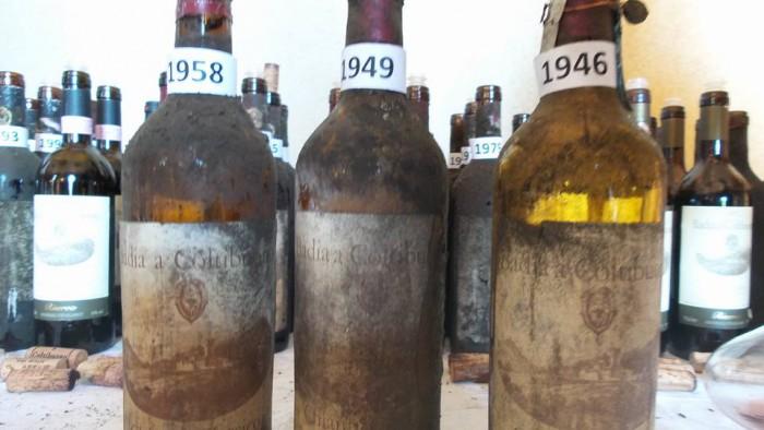 Chianti Classico Riserva 1958, 1949 e 1946 Badia a Coltibuono