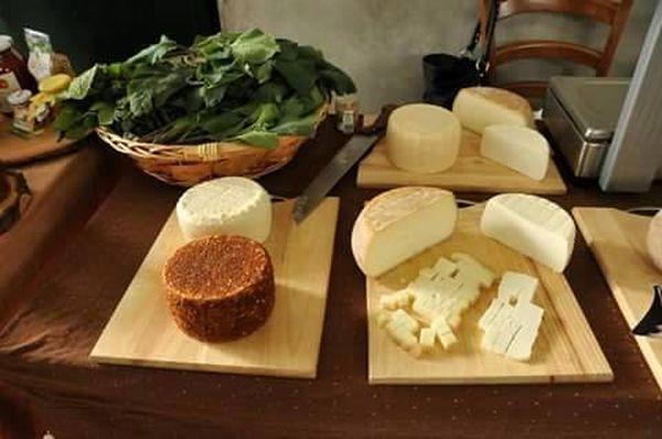 Fattoria Cavallo, formaggi e ortaggi