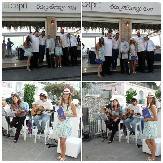 Festone a Capri per il Don Alfonso Cafè