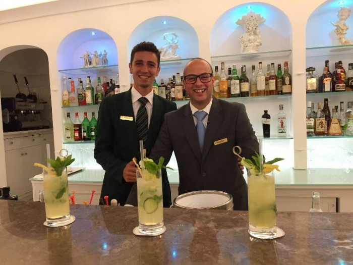 Giuseppe Gargiulo e Attanasio Vinaccia - American Bar La Favorita