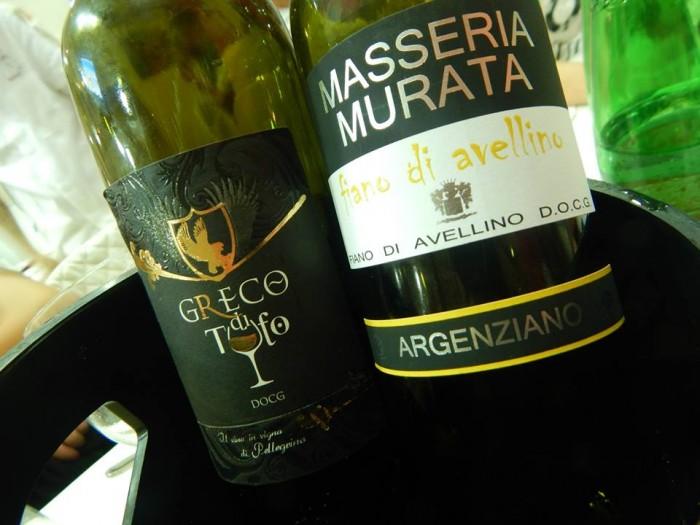 Greco di Tufo 2013 Minetti Ornella  e Fiano di Avellino 2012 Masseria Murata
