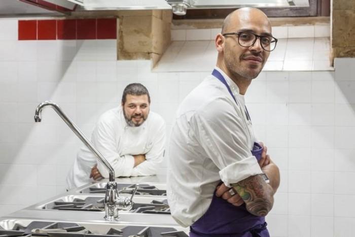 I Banchi, il sous chef Cannistrà Corallo - foto di Marcello Bocchieri