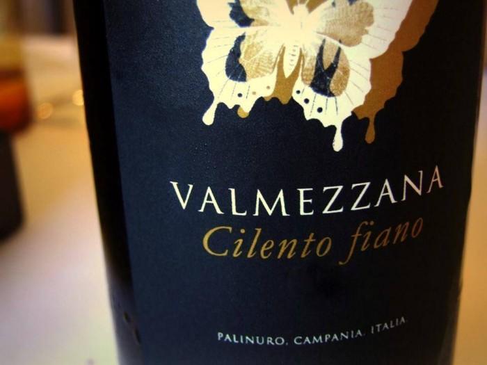Il Cilento nel piatto e nel bicchiere, Fiano Valmezzana di Cantine Albamarina