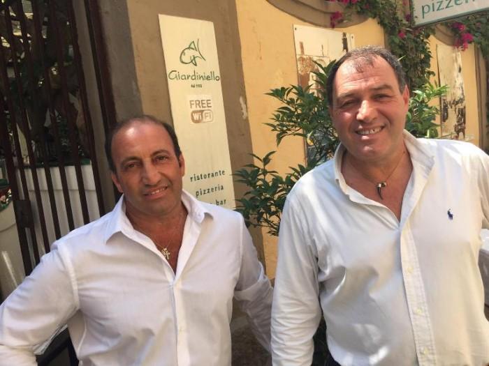 Al Giardiniello, Antonio e Giovanni Di Bianco