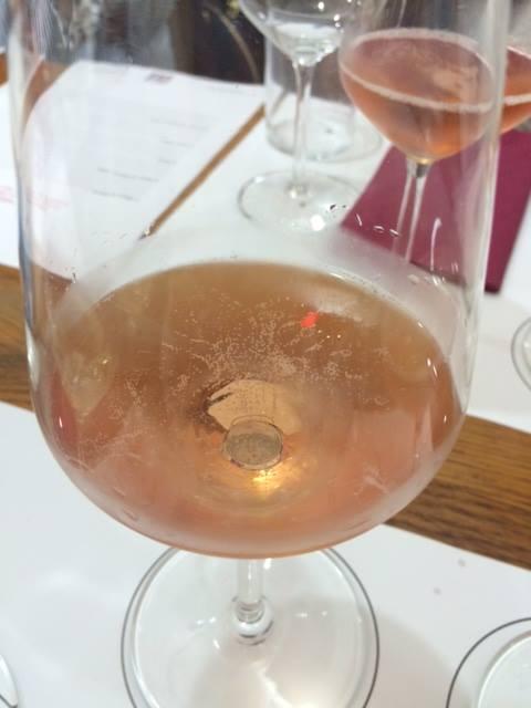 Il particolare colore del Brut rosè 2004