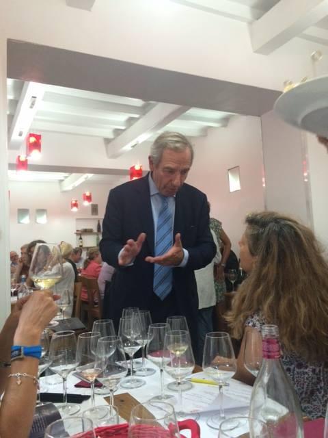 Jean Claude Fourmon a Roma presso enoteca Trimani
