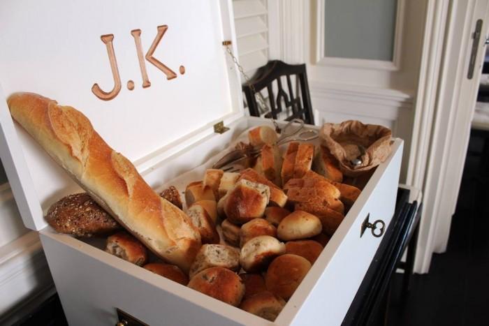 Jk Place Capri, il pane