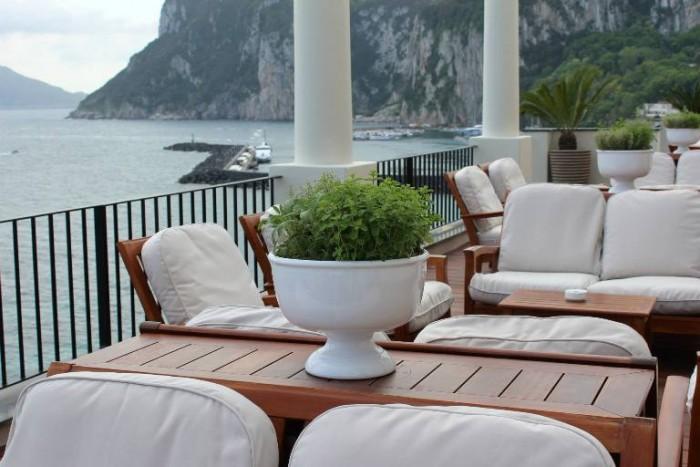 Jk Place Capri, la terrazza