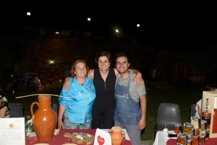 La Tavola del <3, Giovanna Voria con Manuel Lombardi e la mamma