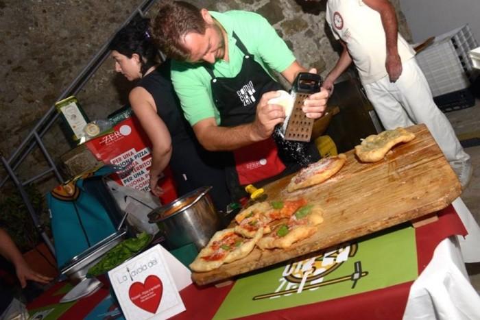 La pizza montanara cilentana di Zero di Vallo della Lucania