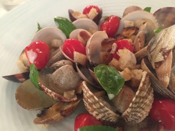Le Colonne Marziale, sautè di frutti di mare
