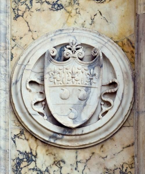 Le tre palle nella leggenda simbolo del condottiero Bartolomeo Colleoni poi divenute simbolo della Guida dei Ristoranti - immagine tratta da wikipedia.it
