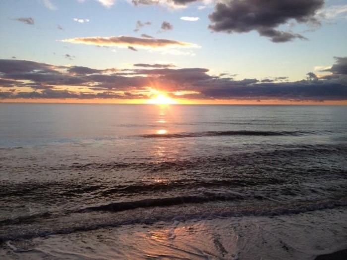 Lo Sciabecco, tramonto