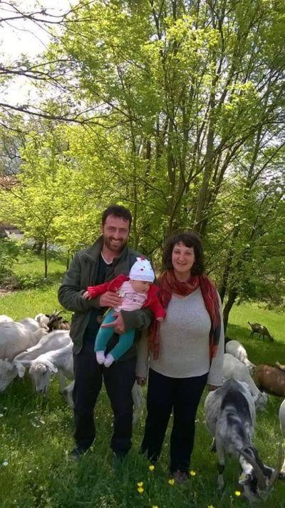 Nicola, Elena e la figlia