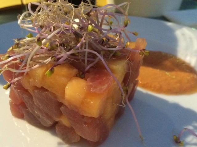 Prelibato Cucina in Piazza, la tartare di tonno