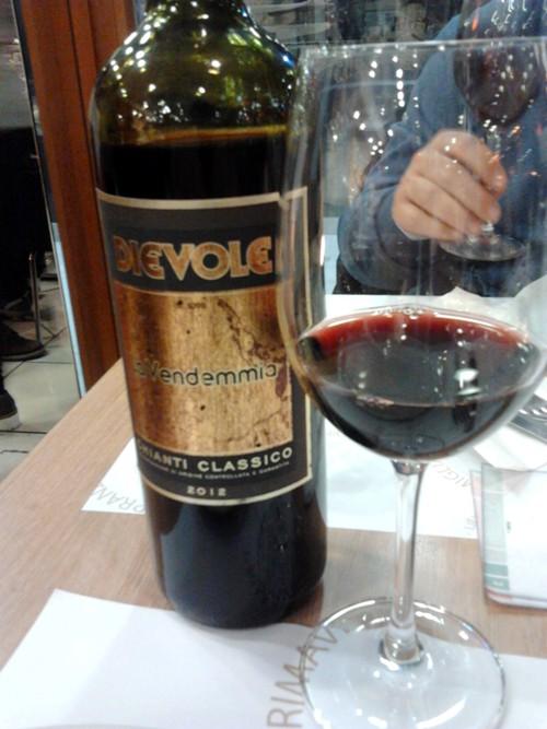 Panificio Menchetti, il vino