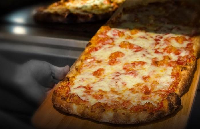Panificio Menchetti, la pizza