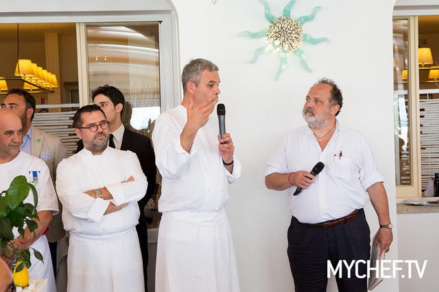 Paolo Marchi con Pietro Leeman