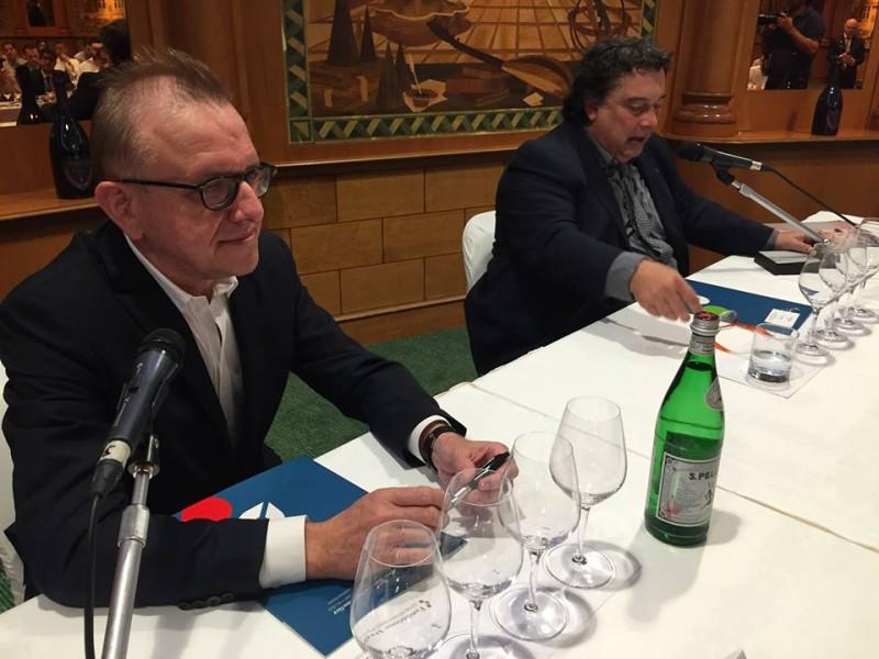 Richard Geoffroy e Daniele Maestri