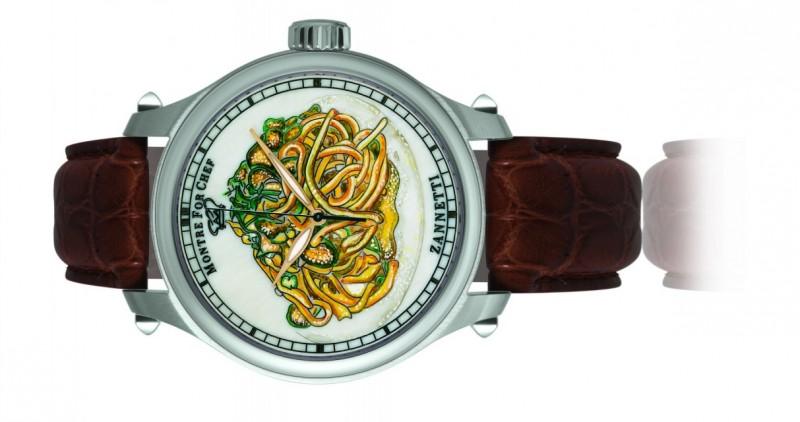 L'orologio con gli spaghetti alla Nerano