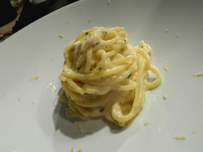 Osteria Cappuccini, spaghettone di Grano Armando