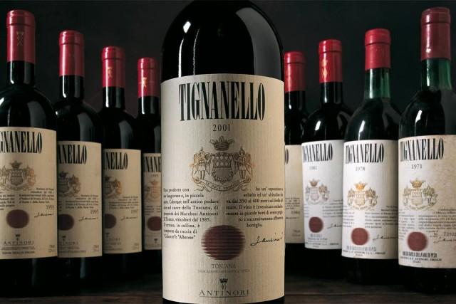 Tignanello vino