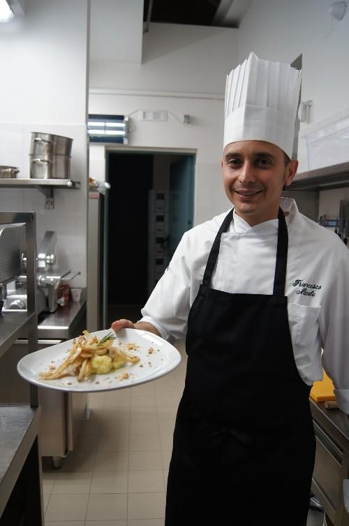 Tre Farine. Lo chef Francesco Natale