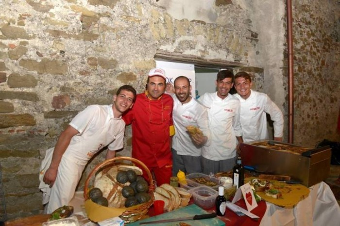 da sinistra Valentino Tafuri, Franco Voria, Marco Santoro, Vincenzo Paolo Capasso