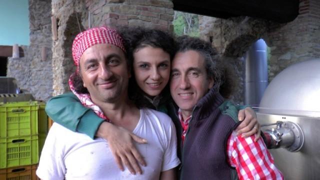 i f.lli Bruno, da sx, Carmine, Teresa e Roberto